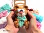 kleiner Bär mit Luftballons