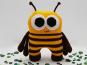 Häkelanleitung > Kuschelbuddie No.4 Biene Bea <