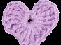 Häkelanleitung für Applikation Herz