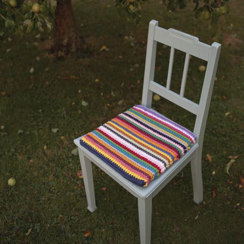 h kelanleitung f r ein sitzkissen. Black Bedroom Furniture Sets. Home Design Ideas