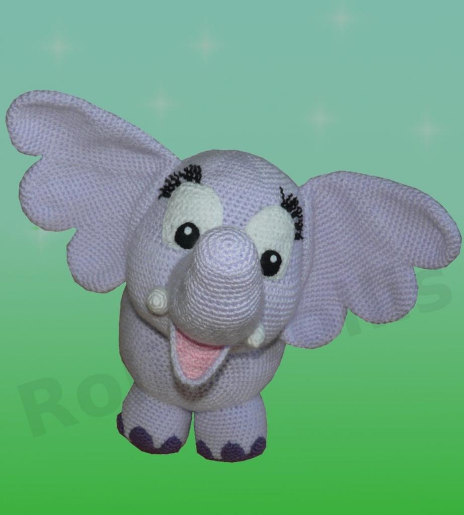 Amigurumi Xxl Elefant : Amigurumi Hakelanleitung fur Elefant Elfi