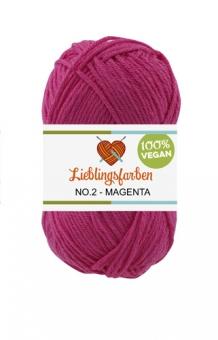 Lieblingsfarben No.2: Lieblingswolle in 26 Farben