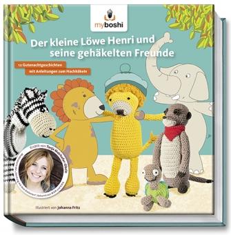 Der kleine Löwe Henri Häkelbuch
