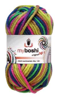 myboshi No.1 multicolor Wolle