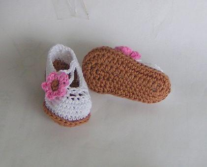 Häkelanleitung Babyschuhe/Ballerinas