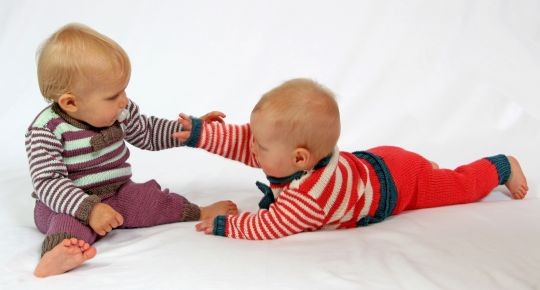 Babyhose Mats & Merle