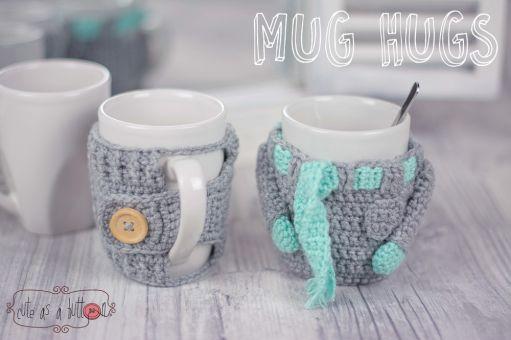 CAAB Mug Hugs Winterset Häkelanleitung