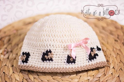Cute as a button Leoparden Set Anleitung