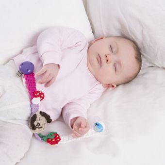 Häkelanleitung für 3 Applikationen für Babys