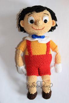 Häkelanleitung Pinocchio