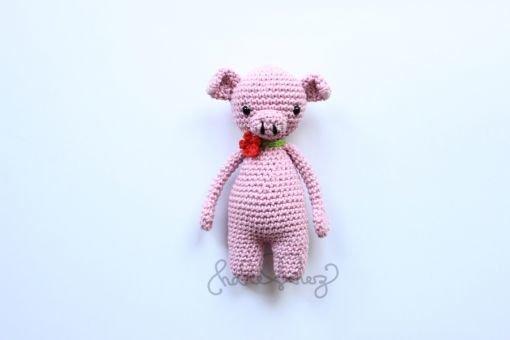 Häkelanleitung Schwein Shirley