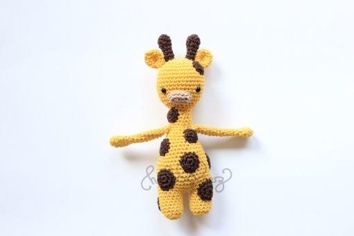 Häkelanleitung Giraffe Emma