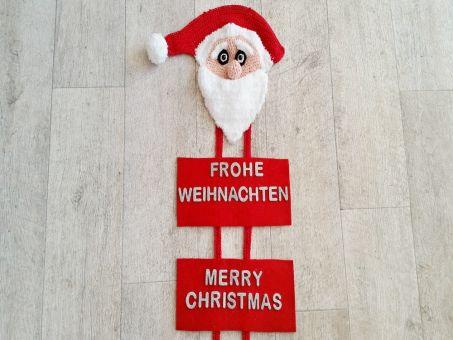 Häkelanleitung Türschmuck Christmas design No.4