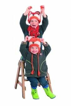 Häkelanleitung für Kindermütze Kitsune