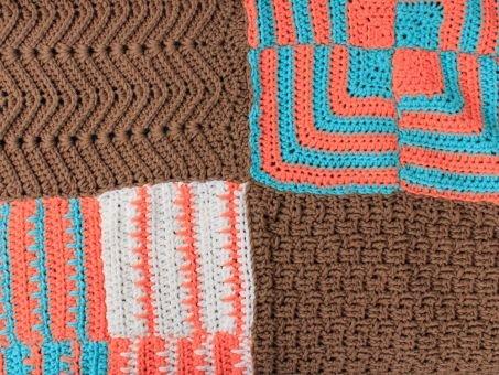 Häkelanleitung für die Decke Tamura