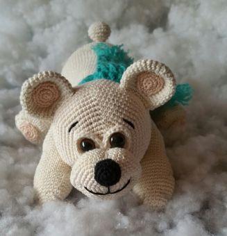 AMIGURUMI; Eisbär Brummer