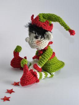 Weihnachtself und Elfe