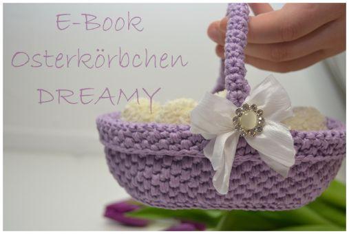 + DREAMY + ovales Osterkörbchen, Körbchen, Geschenkkörbchen