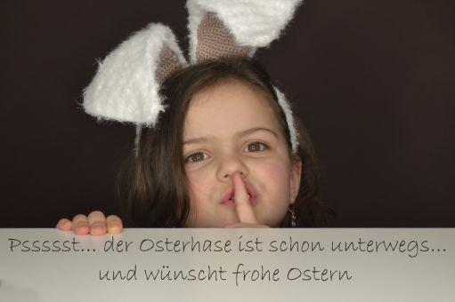 + FANNY + Hasenohren, für Fasching und Ostern