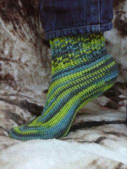 """""""faule Socke"""" für Damen in den Größen 36/37, 38/39, 40/42"""