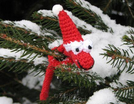 Häkelanleitung Weihnachtsknilch