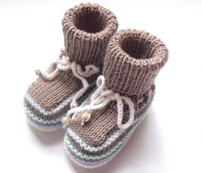 """Babymütze und Schuhe """"Sjard"""""""