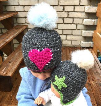 Häkelanleitung Babymütze/ Kindermütze ALPENKIDS