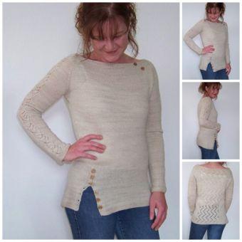 "Strickanleitung Pullover ""Dawsons Sweater"""