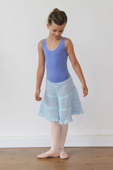 Häkelanleitung für einen Glitzerrock für Mädchen