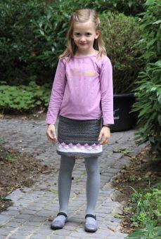Häkelanleitung Mädchenrock
