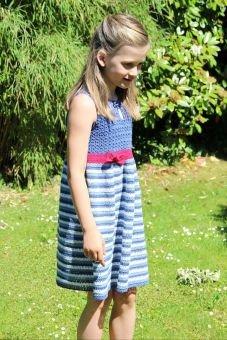 Häkelanleitung Kinderkleid