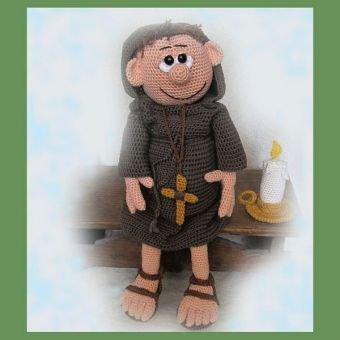 Vater John     PDF Häkelanleitung Puppe