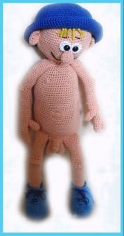Junge Sem   PDF Häkelanleitung Puppe