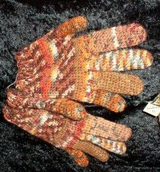 Fingerhandschuhe gehäkelt