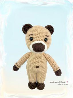 Häkelanleitung Kuschelschnuffelbande Baby Bär Barney
