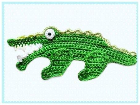 Häkelanleitung Krokodil