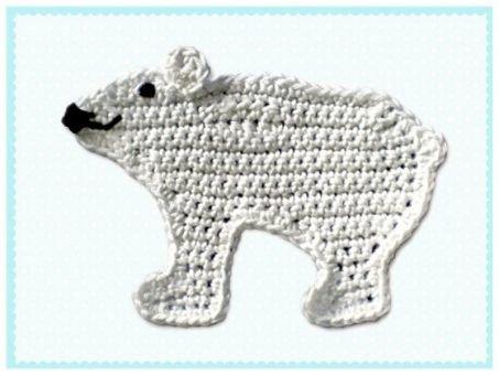 Häkelanleitung Eisbär