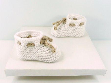 Strickanleitung für Babyschuhe - BASIC- No.14