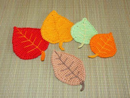 Häkelanleitung Herbstdeko