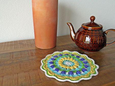 "Mandala Untersetzer ""Teatime"""