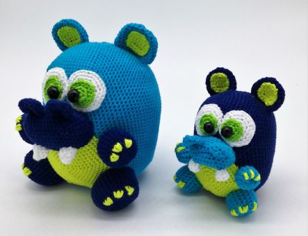 Die Knuffel Hippo