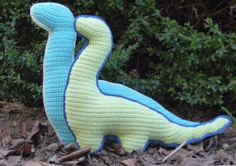 Häkelanleitung Dino