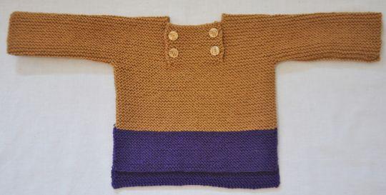 Strickanleitung für unseren Pullover Däumling