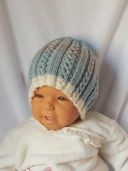 Strickanleitung Baby-Mütze, Babymütze