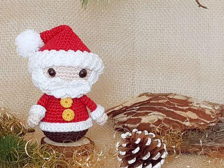 Weihnachts-Trio: Weihnachtsmann, Bäumchen & Engel