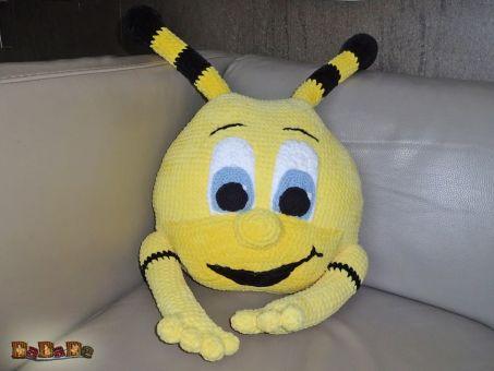 Kissen ANNA Biene, als Deko oder zum Kuscheln