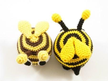 Witzige Biene