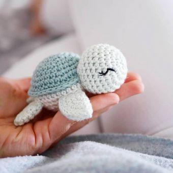 Häkelanleitung kleine Schildkröte