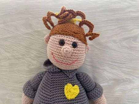 """Häkelanleitung - Puppe """"Kati Kaufmann"""""""