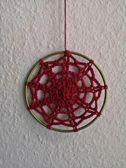 Mandala Dark Red